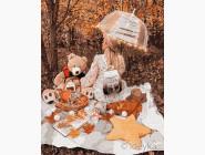 Портреты, люди на картинах по номерам Осенний пикник