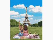 Городской пейзаж Подружки в Париже