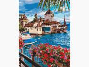 Морской пейзаж: картины без коробки Волшебная Швейцария