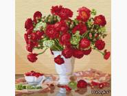 Цветы, натюрморты, букеты Багряный букет. Ира Волкова