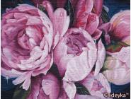 Цветы, натюрморты, букеты Нежность пионов