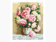 Букеты и натюрморты: картины без коробки Нежно-розовые пионы