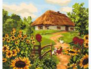 Сельский дворик