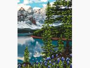 Природа и пейзаж: картины без коробки Ель в горах