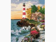 Море, морской пейзаж, корабли Домик у маяка