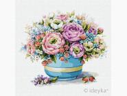 Цветы, натюрморты, букеты Малиновый букет