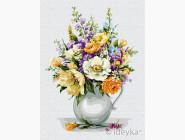 Букеты и натюрморты: картины без коробки Волшебный букет цветов