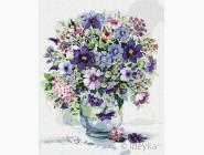 Букеты и натюрморты: картины без коробки Фиолетовое вдохновения