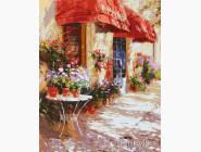 Городской пейзаж Цветочный магазин