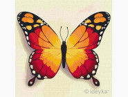 Птицы и бабочки картины по номерам Оранжевая бабочка