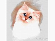 Коты и собаки: картины без коробки Пушистое облачко