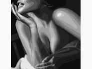 Портреты и знаменитости: раскраски без коробки Элегантный соблазн