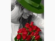 Девушка в зеленой шляпе