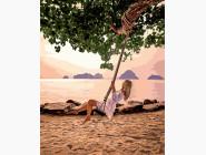 Качеля на пляже