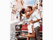 Романтика и влюбленные: картины без коробки Поцелуй