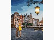 Романтика и влюбленные: картины без коробки Свидание в Гданьске