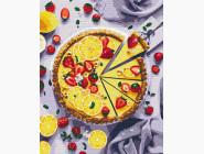 Раскраски для кухни Лимонный пирог