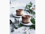 Картины по номерам для кухни Шоколадные пирожные