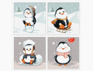 Триптихи по номерам и полиптихи Веселая зима