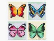 Триптихи по номерам и полиптихи Весенние бабочки