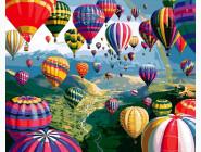 Космос, машины, самолеты Разноцветные шары