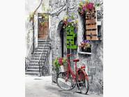 Городской пейзаж Цветочная улочка