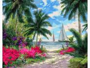 Море, морской пейзаж, корабли Морской бриз