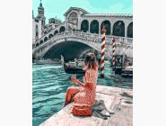 Портреты, люди на картинах по номерам Влюбленная в Венецию