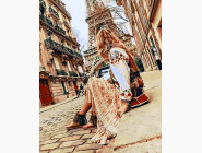 Портреты, люди на картинах по номерам Пешие прогулки по Парижу