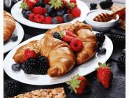 Картины по номерам для кухни Ягоды на завтрак