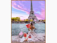 Портреты, люди на картинах по номерам Свидание в Париже
