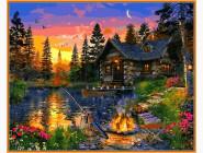 Пейзаж и природа Вечерняя рыбалка. Доминик Дэвисон
