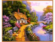 Пейзаж и природа Сельский домик