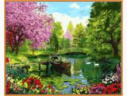Пейзаж и природа Вишневый сад