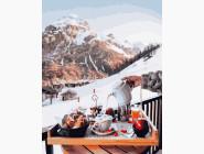 Пейзаж и природа Завтрак у Швейцарских гор