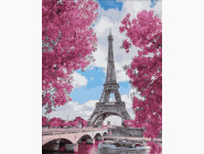 Городской пейзаж Магнолия в Париже
