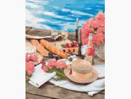 Цветы, натюрморты, букеты Пикник рядом с морем
