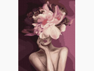 картина по номерам Пурпурний цветок