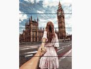 Портреты, люди на картинах по номерам RA-GXT22063 Картина по номерам Следуй за мной. Лондон Rainbow Art