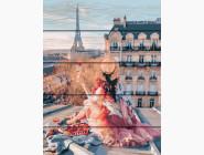 Портреты, люди на картинах по номерам Красота Парижа