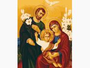 Иконы и религия: картины без коробки Иисус, Мария, Иосиф