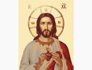 Иконы и религия: картины без коробки Иисус в сердце