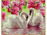 Новинки алмазной вышивки Лебеди