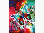 Новинки алмазной вышивки Яркая бабочка