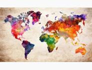 Новинки алмазной вышивки Карта мира