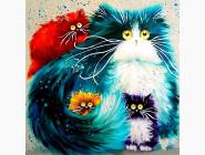 Новинки алмазной вышивки Весёлые котята