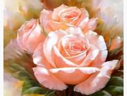 Новинки алмазной вышивки Три нежные розы