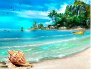 Новинки алмазной вышивки Долгожданный отдых на море