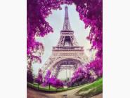 Алмазная вышивка  My Art Путешествие в Париж (TN517, На подрамнике)