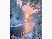 Новинки алмазной вышивки Тишина зимнего леса